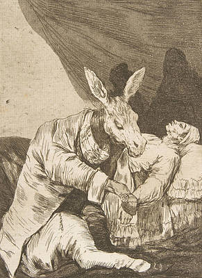 Relief - Of What Ill Will He Die by Francisco Goya