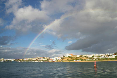 Photograph - Of Whitewashed Villages And Rainbows by Georgia Mizuleva