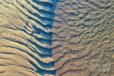 Wave Pattern Photograph - Of Wind And Waves by Tim Gainey