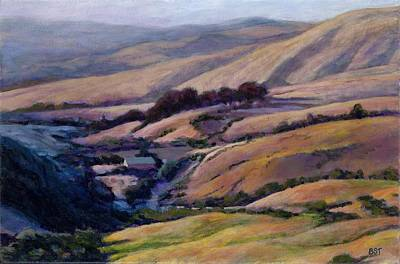 Off Jalama Road Art Print