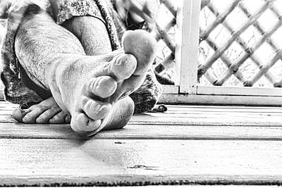 Photograph - Off My Feet by Sharon Popek