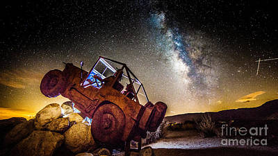 Photograph - Off-road At Borrego Springs by Jim DeLillo