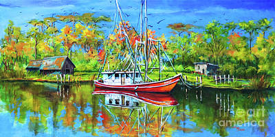 Painting - Off Season by Dianne Parks