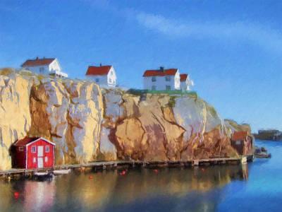 Painting - Off Season by Lutz Baar