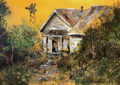 Painting - Off The Beaten Path by Alan Lakin