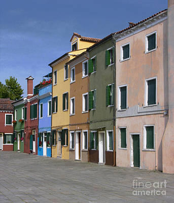 Photograph - Off The Beaten Path In Murano Italy by Sandra Bronstein