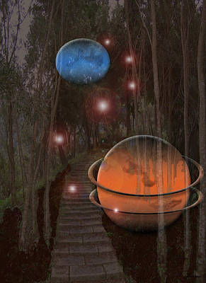 Off The Beaton Path Art Print by Andrea Lawrence
