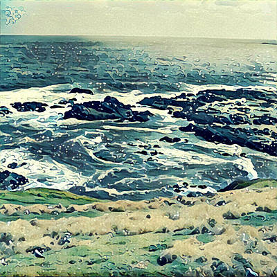 Photograph - Off The Coast Of Australia by Unhinged Artistry