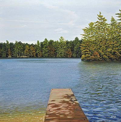 Off The Dock Art Print by Kenneth M  Kirsch