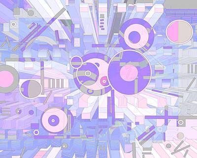 Digital Art - Off The Grid 30 by Lynda Lehmann