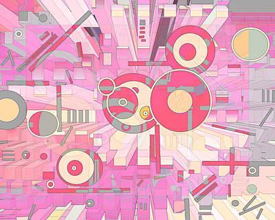 Digital Art - Off The Grid 26 by Lynda Lehmann
