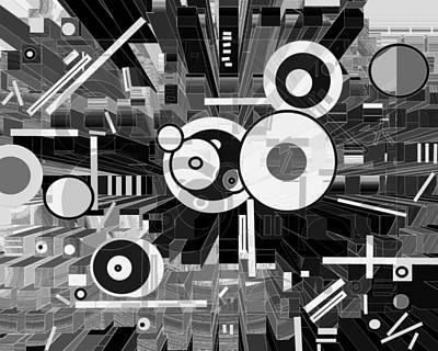 Digital Art - Off The Grid 50 by Lynda Lehmann