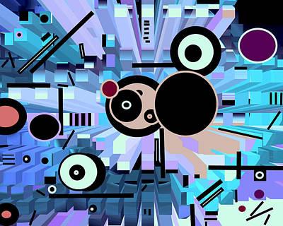 Digital Art - Off The Grid 62 by Lynda Lehmann