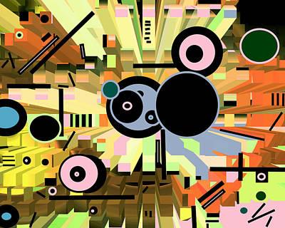 Digital Art - Off The Grid 66 by Lynda Lehmann
