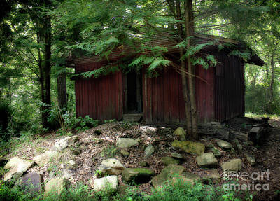 Cabin Photograph - Off The Grid by Cris Hayes