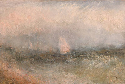 Painting - Off The Nore by Joseph Mallord William Turner