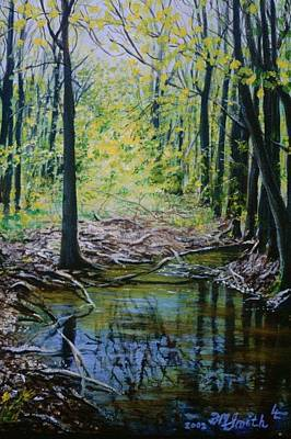 Painting - Off The Trail by Barbel Smith