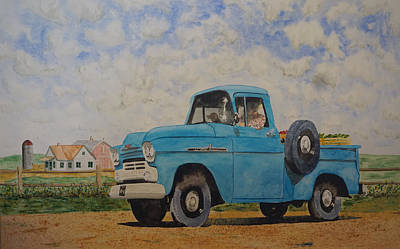 Off To Town Art Print by Gary Thomas