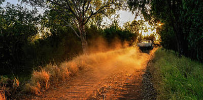 Photograph - Off To Work In The Outback by Lexa Harpell