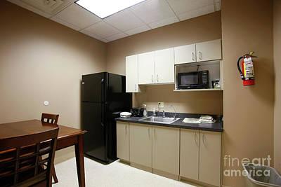 Photograph - Office Break Room by Richard Lynch