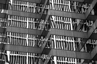Scifi Portrait Collection - Office Building Details by Valentino Visentini