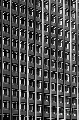 Photograph - Office Building Windows by Jim Corwin