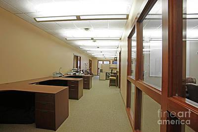 Photograph - Office Desks by Richard Lynch