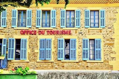 Photograph - Office Du Tourisme by Kirsten Giving