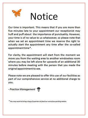 Digital Art - Office Notice by Richard Reeve