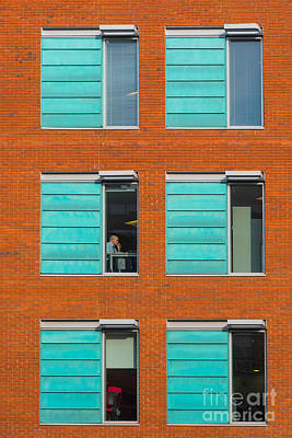 Office Windows Art Print