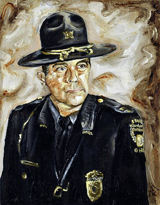 Painting - Officer Demaree by Ryan Demaree