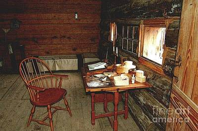 Officers Quarters Fort Stanwix Art Print by Diane E Berry
