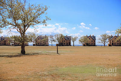 Photograph - Officer's Row by Colleen Kammerer