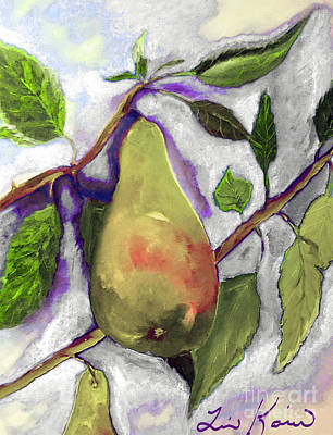 Painting - Official Fruit Of Oregon Painting by Lisa Kaiser