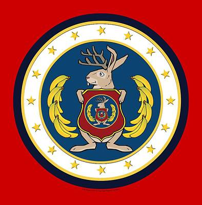 Official Odd Squad Seal Art Print