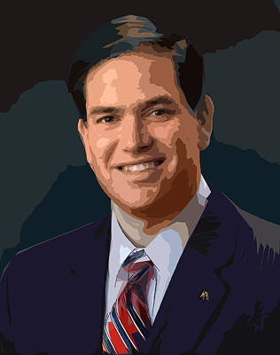 Photograph - Marco Rubio by C H Apperson