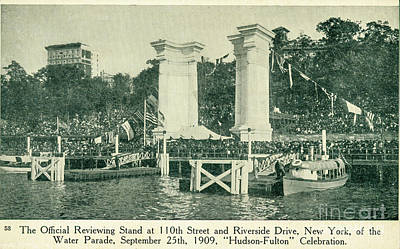 Photograph - Official Viewing Stand - Hudson-fulton Celebration 1909 by Joe Santacroce