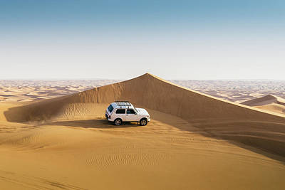 Photograph - Offroading In The United Arab Emirates by Alexandre Rotenberg