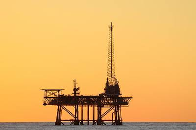 Photograph - Offshore Oil And Gas Platform  by Bradford Martin