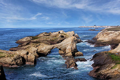 Photograph - Offshore Rocks On The Mendocino Coast  by Kathleen Bishop