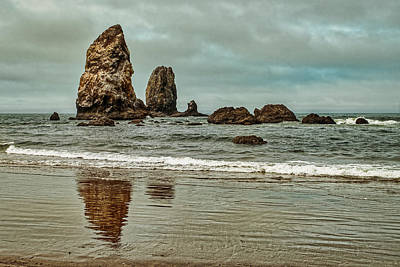 Photograph - Offshore Sea Stacks - Oregon by Stuart Litoff