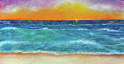Cape Cod Painting - Offshore Wind by Robin Manning