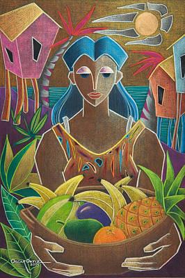 Painting - Ofrendas De Mi Tierra by Oscar Ortiz