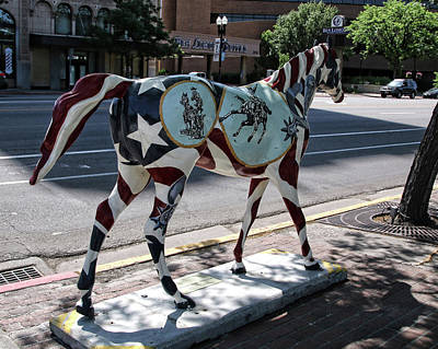 Photograph - Ogden Horse 27 by Ely Arsha