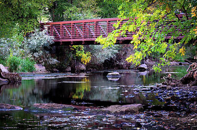 Ogden River Bridge Art Print