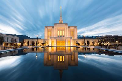 Photograph - Ogden Temple  by Dustin  LeFevre