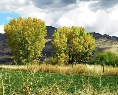 Autumn Landscape Photograph - Ogden Valley Autumn by Dilectus Rex