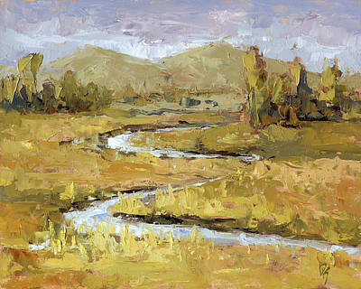 Painting - Ogden Valley Marsh by David King
