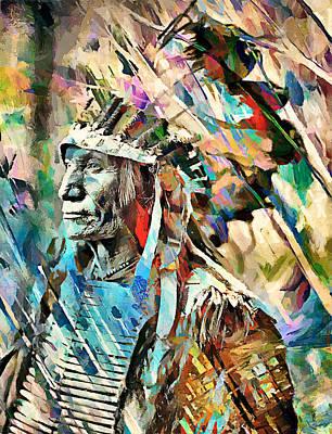 Oglala Sioux Art Print