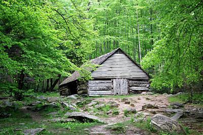 Photograph - Ogle Barn by Nicholas Blackwell